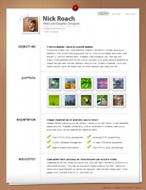 My Resume Premium WordPress Theme
