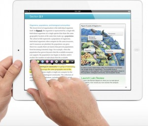 iBooks textbooks for iPad