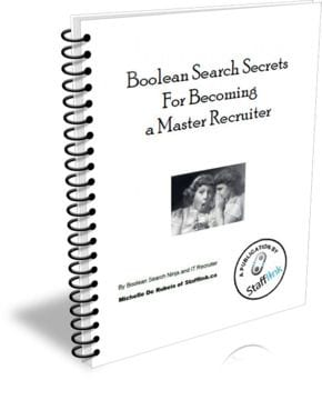 Boolean Search Secrets for Becoming a Master Recruiter Ebook