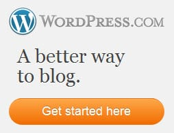 WordPress.com is a great place to publish your first blog-portfolio