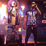 LMFAO - Redfoo and Sky Blu performing at Free Show 3.0 in Fort Wayne, Indiana