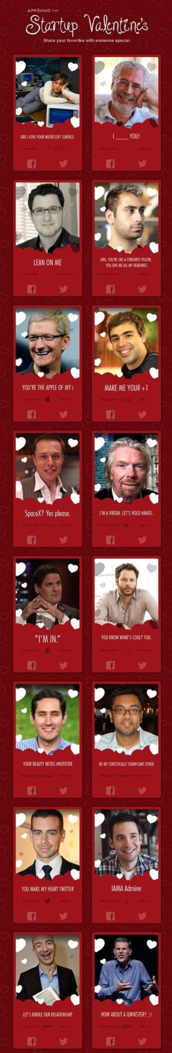 You gotta love these geeky Valentines from App Sumo!
