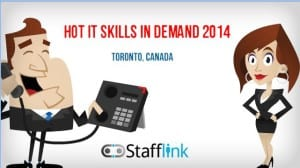 Video: Hot IT skills in demand at Stafflink going into2014