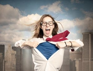 Posing like a super hero for only 2 minutes changes your brain chemistry and makes you feel more confident.