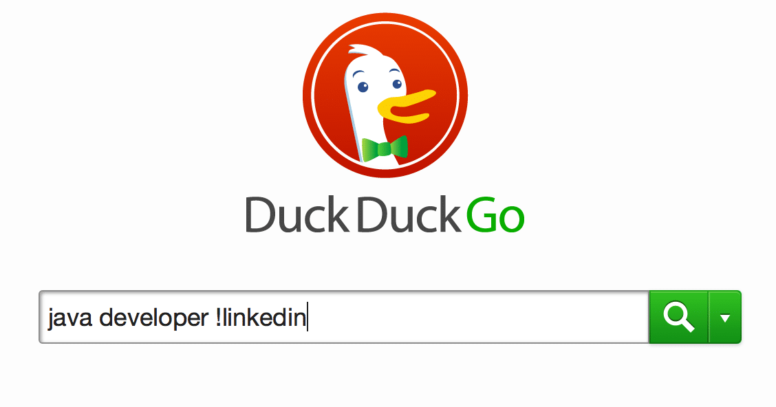 "Use the DuckDuckGo ""Bang"" command for super easy site searches"
