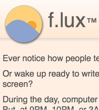 A free app that adjusts your screen and helps you sleep better