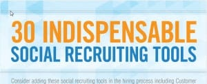 Infographic: Great Social Recruiting Tools